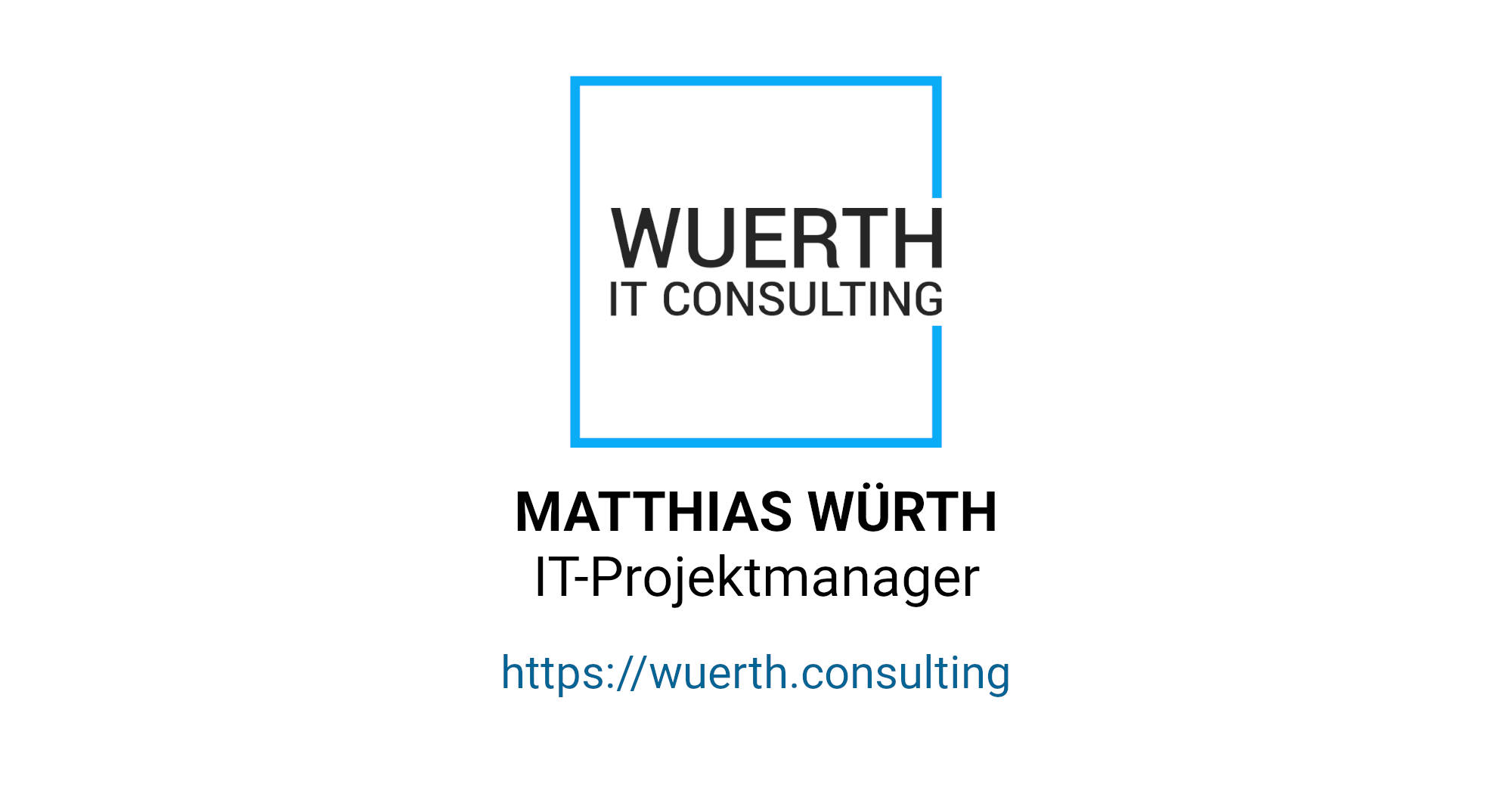 OpenGraph-Bild | Internationaler IT-Projektmanager | Würth Consulting
