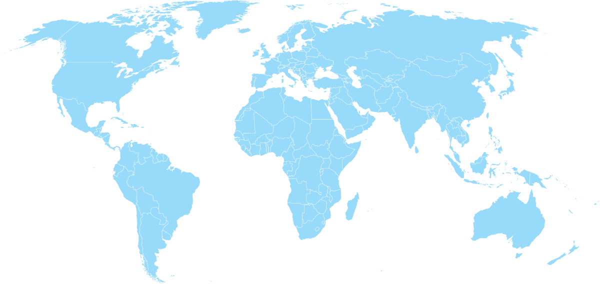 Weltkarte | Internationaler IT-Projektmanager | Würth Consulting